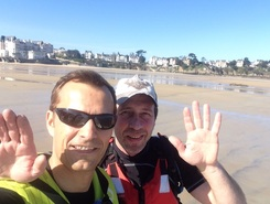 Dinard  spot de stand up paddle en France