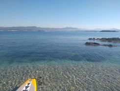 ile des embiez  spot de stand up paddle en France