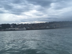 Swanage paddle board spot in United Kingdom
