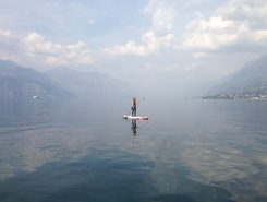 Assenza paddle board spot in Italy