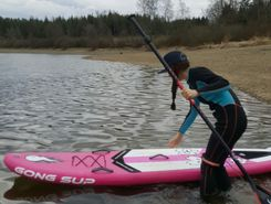 Lac de Butgenbach spot de stand up paddle en Belgique