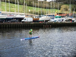 Totnes, Devon  sitio de stand up paddle / paddle surf en Reino Unido