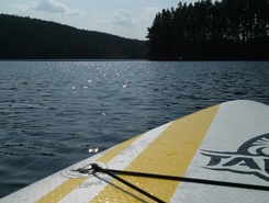Slapy - Županovice paddle board spot in Czech Republic