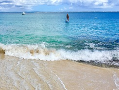 Grand Case, St. Maarten paddle board spot in Sint Maarten