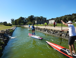 Parque Urbano do Jamor sitio de stand up paddle / paddle surf en Portugal