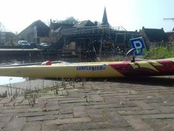 Rondje Winsum paddle board spot in Netherlands