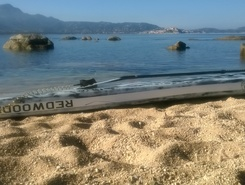 plage alga paddle board spot in France