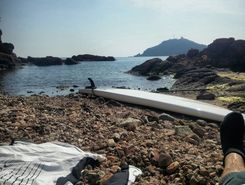 agay sitio de stand up paddle / paddle surf en Francia