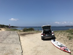 Calasetta  paddle board spot in Italy