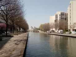 pantin canal de l'ourcq paddle board spot in France