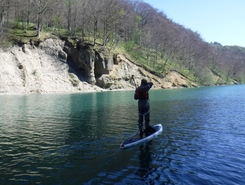 Pont Carnot paddle board spot in France