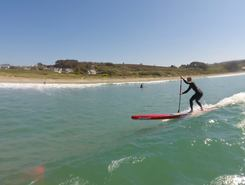 plage de goulien spot de stand up paddle en France