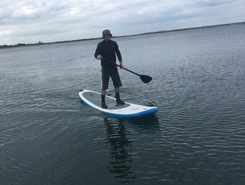 Studland spot de stand up paddle en Royaume-Uni