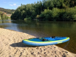 Mondego spot de stand up paddle en Portugal