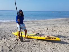 Decameron paddle board spot in Panama