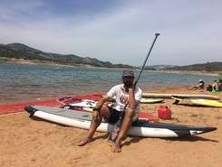 Embalse de Iznajar sitio de stand up paddle / paddle surf en España