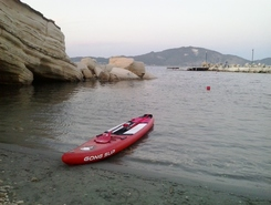 GREECE :  ZAKYNTHOS  ISLAND :  LAGANAS paddle board spot in Greece