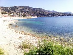 Villefranche-sur-Mer paddle board spot in France