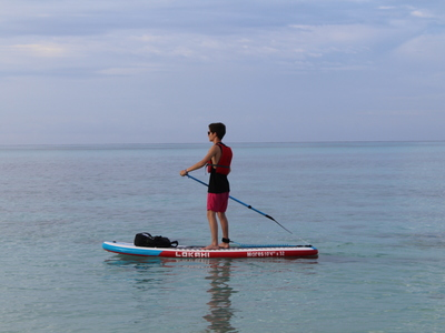 Bayahibe spot de stand up paddle en République dominicaine