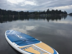Lake Tapps sitio de stand up paddle / paddle surf en Estados Unidos