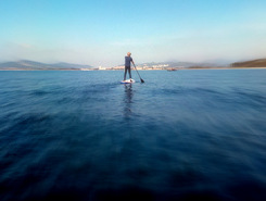 Plage Miramar spot de stand up paddle en France