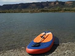Red Rocks Lake paddle board spot in United States