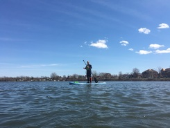 Bassin Chambly sitio de stand up paddle / paddle surf en Canadá