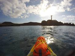Los Cristianos, Arona. Tenerife paddle board spot in Spain