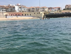 Parede paddle board spot in Portugal