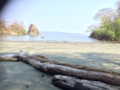Isla Cedros paddle board spot in Costa Rica