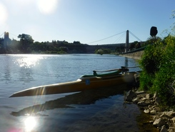 ardeche  paddle board spot in France