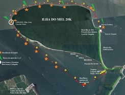 Desafio Ilha do Mel sitio de stand up paddle / paddle surf en Brasil