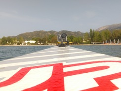 Dimorigopoulou paddle board spot in Greece