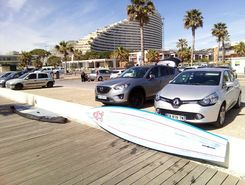 Villeneuve Loubet paddle board spot in France