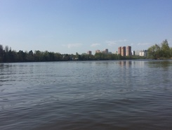 Zjivopisniy beach paddle board spot in Russia