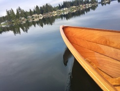 Lake Tapps paddle board spot in United States