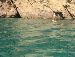 SupinThassos ,  sitio de stand up paddle / paddle surf en Grecia