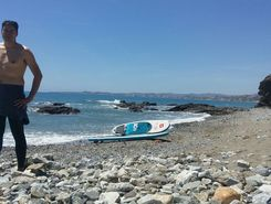 playa de la viborilla paddle board spot in Spain