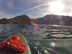 Pyramid Lake California spot de stand up paddle en États-Unis
