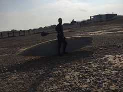 Pevensey Bay sitio de stand up paddle / paddle surf en Reino Unido