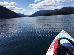 Sproat to Taylor arm  sitio de stand up paddle / paddle surf en Canadá