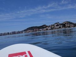 Malagueta paddle board spot in Spain