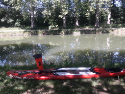 canal du midi spot de stand up paddle en France