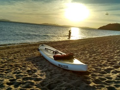 Ipanema Porto Alegre RS paddle board spot in Brazil