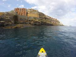 Radazul paddle board spot in Spain