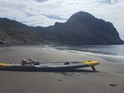 Playa de Antequera paddle board spot in Spain