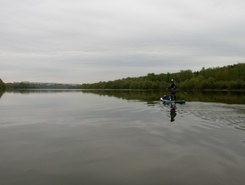 Osiotr sitio de stand up paddle / paddle surf en Rusia