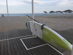 Los Boliches sitio de stand up paddle / paddle surf en España