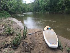 Little gun powder paddle board spot in United States