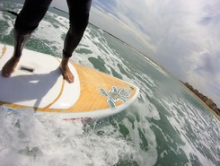 naturistes spot de stand up paddle en France